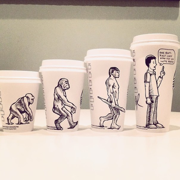 comics-starbucks-coffee-cup-art-yoyoha boredbat 2020 comics