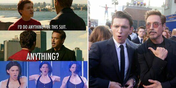spider-man-tony best memes of marvel 2020